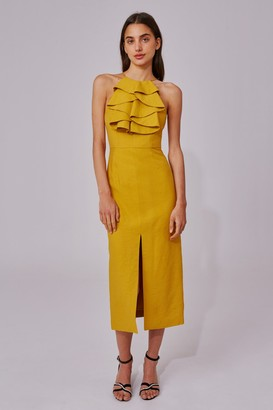 C/Meo NEW PLACES DRESS marigold