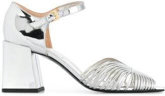 Suzanne Rae 70s Block Heel Sandals