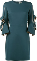 Roksanda Harlin bow embellished dress - women - Polyester/Spandex/Elastane/Silk - 8