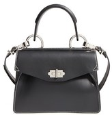 Proenza Schouler 'Small Hava' Top Handle Calfskin Leather Satchel - Black