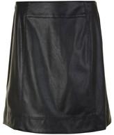 BOSS Badany Leather Skirt