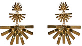 Lele Sadoughi Palm Grass Chandelier Earrings