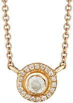 Zoe Women's Diamond-Embellished Circular Pendant Necklace