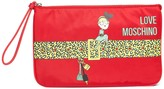 Love Moschino Front Graphic Print Wallet