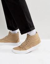 Vans Van Sk8-Hi Sneakers In Beige Va38gemx4