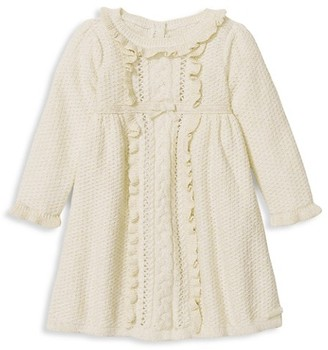 Janie and Jack Baby Girl's Bow Sweater Dress
