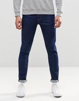 Asos Skinny Jeans In 12.5oz In True Blue
