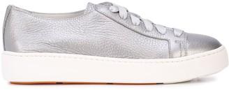 Santoni Lace-Up Low-Top Sneakers