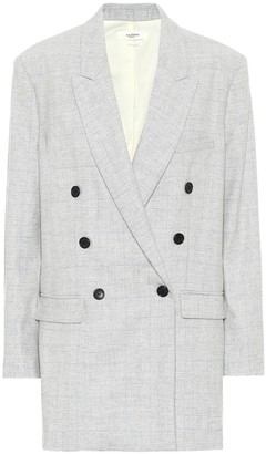 Etoile Isabel Marant Eagan checked wool-blend blazer