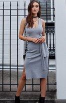 Beginning Boutique District Dress Grey