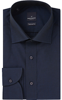 Daniel Hechter Cotton Twill Tailored Fit Shirt, Navy