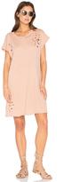 NYTT Distressed Shirt Dress