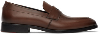 HUGO BOSS Brown Midtown Loafers