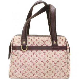 Louis Vuitton \N Red Suede Handbags