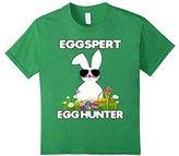 Women's Eggspert Egg Hunter Easter Shirt Boys Girls Cool Bunny Medium