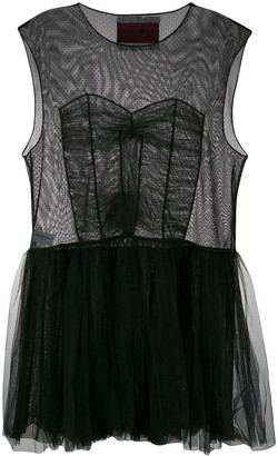 Viktor & Rolf Dress With Hole short dress