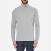 Polo Ralph Lauren Men's Quarter Zip Sweatshirt Andover Heather Grey