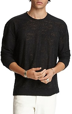 John Varvatos Collection Easy Fit Textured Sweater