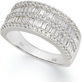 Effy Classique by Diamond Band (1-1/10 ct. t.w.) in 14k White or Yellow Gold