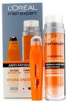 L'Oreal Men Expert Set: Hydra Energetic Turbo Booster + Ice Cool Eye Roll-On - 2pcs