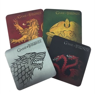 Game of Thrones: House Sigil Coasters - 4-Pack