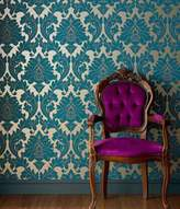 Graham & Brown Teal majestic wallpaper