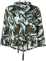 Moncler 'Corail' camouflage jacket - women - Polyamide/Polyester - 0