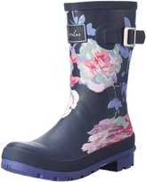 Joules Womens Molly Wellingtons Multi Synthetic Boots 9 US