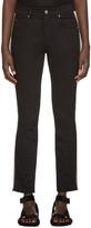 Etoile Isabel Marant Black Two-Tone Haven Jeans