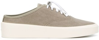 Fear Of God Backless Canvas Trainers