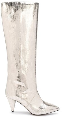 Isabel Marant Metallic Pointed Boots