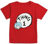 Bumkins Dr. Seuss by Classic Short Sleeve Tee-Thing 1