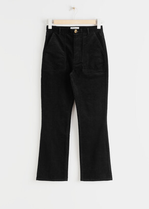 And other stories Slim Corduroy Kick Flare Trousers