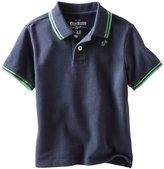 Osh Kosh Pique Polo (Toddler/Kids) - Navy-5