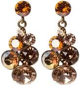 Konplott PETIT GLAMOUR Earrings brown antique