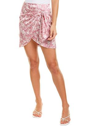 Caroline Constas Koren Silk-Blend Skirt