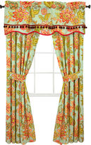 Waverly Charismatic Honeysuckle 2-Pack Curtain Panels