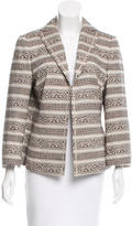 Akris Printed Long Sleeve Jacket