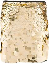 Trina Turk metallic sequined skirt - women - Polyester/Spandex/Elastane - 4
