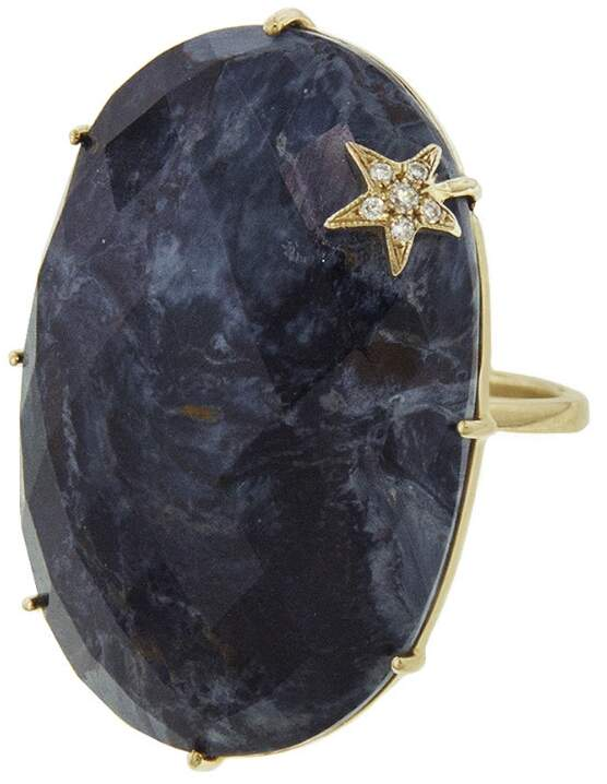 Andrea Fohrman Pietersite Moon Ring - White Gold
