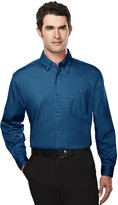 Tri-Mountain Big and Tall 6 oz. Cotton Long Sleeve Twill Shirt