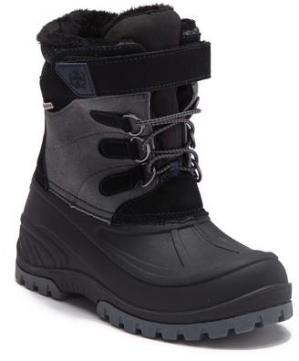 Khombu Snowtracker Faux Fur Lined Waterproof Boot (Toddler & Little Kid)