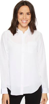 NYDJ Women's Button-Down Shirt