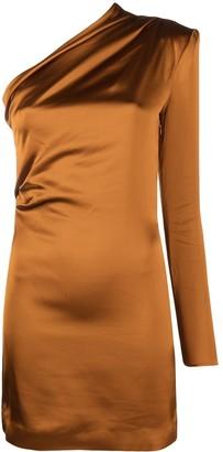 GAUGE81 Draped One-Shoulder Dress