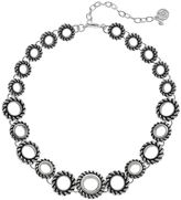 Dana Buchman Rope Circle Link Necklace