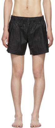 Off-White Black Arrows Swim Shorts