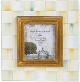 """Mackenzie Childs MacKenzie-Childs - Parchment Check Enamel Frame - 2.5"""" x 3"""