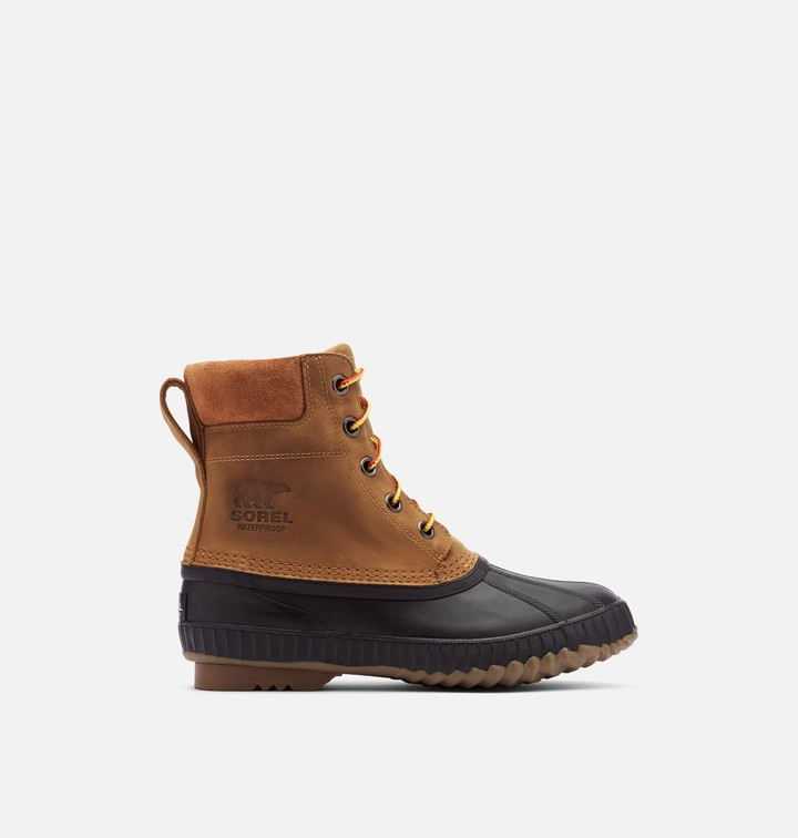 Mens Boots With Removable Footbed
