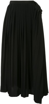 Maison Mihara Yasuhiro Pleated Skirt