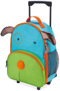 Skip Hop Dog Zoo Kids Rolling Luggage